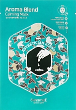 Profumi e cosmetici Maschera lenitiva in tessuto - Shangpree Aroma Blend Calming Mask