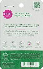 Balsamo labbra all'albicocca - Eos 100% Natural Organic Apricot Lip Balm — foto N2