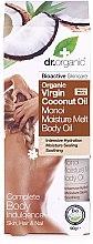 Profumi e cosmetici Olio cocco corpo e capelli - Dr.Organic Virgin Coconut Oil Moisture Melt Body Oil