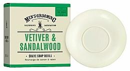 """Profumi e cosmetici Sapone da barba """"Vetiver e legno di sandalo"""" - Scottish Fine Soaps Vetiver & Sandalwood Shaving Soap Refill"""