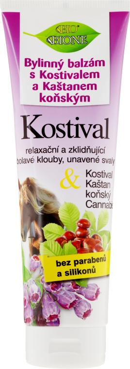 Balsamo piedi - Bione Cosmetics Cannabis Kostival Herbal Ointment with Horse Chestnut