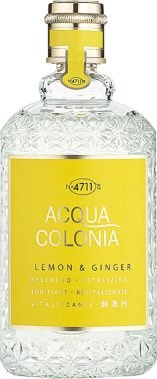 Maurer & Wirtz 4711 Aqua Colognia Lemon & Ginger - Colonia