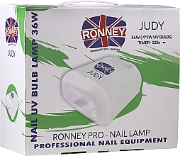 Profumi e cosmetici Lampada UV per unghie, rossa - Ronney Profesional Judy UV 36W (GY-UV-230) Lamp