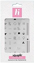 Profumi e cosmetici Adesivi per unghie - Hi Hybrid Simple Nail Stickers