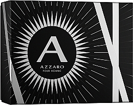 Profumi e cosmetici Azzaro Pour Homme - Set (edt/100ml + b/shm/100ml + after shave/50ml)