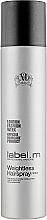 Profumi e cosmetici Lacca super leggera - Label.m Weightless Hairspray