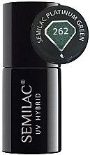Profumi e cosmetici Gel-smalto - Semilac Platinum UV Hybrid