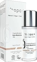 Profumi e cosmetici Crema viso idratante - Yappco Hypoallergenic Moisturizer Face Cream