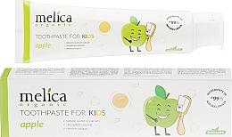 Profumi e cosmetici Dentifricio per bambini - Melica Organic Toothpaste For Kids Apple