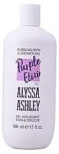 Profumi e cosmetici Gel doccia - Alyssa Ashley Purple Elixir Bath And Shower Gel