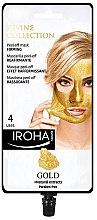 Profumi e cosmetici Maschera viso - Iroha Nature Gold Peel Off Mask Firming