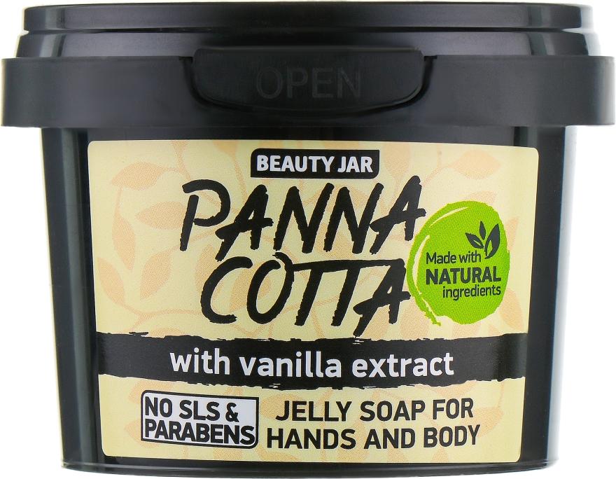 """Sapone con estratto di vaniglia per mani e corpo """"Panna Cotta"""" - Beauty Jar Jelly Soap For Hands And Body — foto N2"""