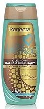 Profumi e cosmetici Balsamo corpo abbronzante, scuro - Perfecta I Love Bronze Balm