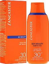 Profumi e cosmetici Latte solare corpo - Lancaster Sun Beauty Velvet Milk Sublime Tan SPF 30