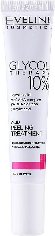 Peeling acido 10% - Eveline Glycol Therapy Kwasowa Kuracja Peelingujaca 10%