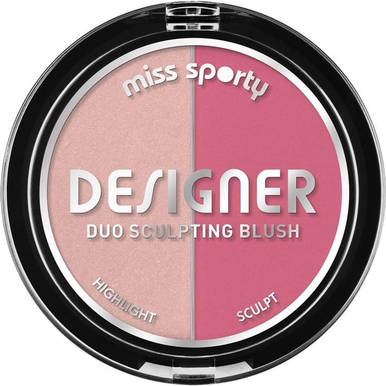 Blush - Miss Sporty Draping Designer Duo Sculpting Blush