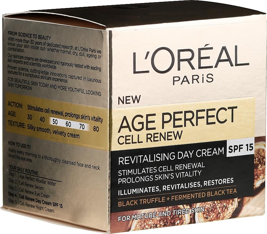 Crema viso da giorno - L'Oreal Paris Age Perfect Cell Revival Day Cream 50+