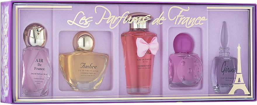 Charrier Parfums Parfums De France - Set (edp/5.2ml + edp/5.2ml + edp/5.2ml + edp/8ml + edp/4.9ml)