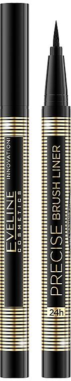 Eyeliner-pennarello per occhi - Eveline Cosmetics Precise Eye Liner Brush