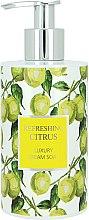 Profumi e cosmetici Sapone liquido - Vivian Gray Refreshing Citrus Cream Soap