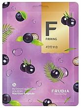Profumi e cosmetici Maschera in tessuto con bacche di acai - Frudia My Orchard Squeeze Mask Acai Berry
