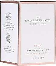 Profumi e cosmetici Olio viso rivitalizzante - Rituals The Ritual Of Namaste Glow Anti-Aging Face Oil