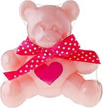 """Profumi e cosmetici Sapone alla glicerina """"Bear"""", rosa - Chlapu Chlap Glycerine Soap"""