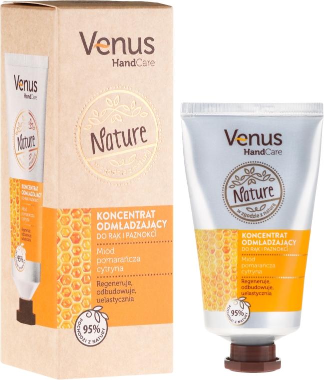 Concentrato per mani e unghie antietà - Venus Nature