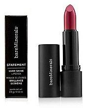 Profumi e cosmetici Rossetto brillante resistente - Bare Escentuals Bare Minerals Statement Luxe Shine Lipstick