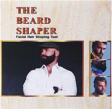 Profumi e cosmetici Stencil con pettine per barba, nero - Man'S Beard