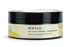 """Profumi e cosmetici Burro corpo """"Mango e mandarino"""" - Nature Queen Body Butter"""