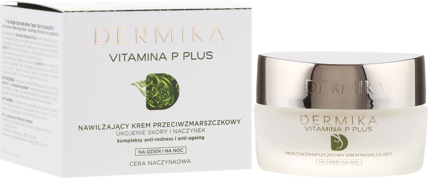 Crema viso idratante antirughe - Dermika Vitamina P Plus Face Cream
