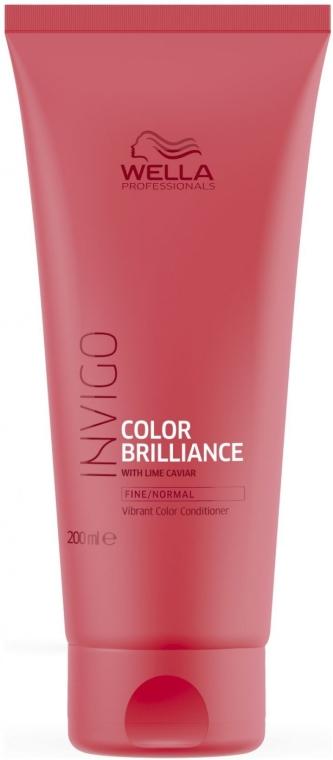 Condizionante per capelli normali tinti - Wella Professionals Invigo Color Brilliance Conditioner