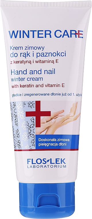 Crema invernale per mani e unghie - Floslek Winter Care Hand And Nail Winter Cream