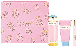 Profumi e cosmetici Prada Candy Sugar Pop - Set (edp 80 ml + edp 10 ml + b/lot 75 ml)
