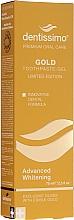 Profumi e cosmetici Dentifricio-gel sbiancante - Dentissimo Advanced Whitening Gold Toothpaste
