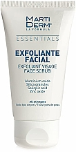 Profumi e cosmetici Scrub viso - MartiDerm Essentials Exfoliating Facial Scrub