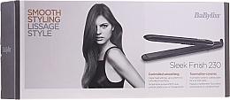 Profumi e cosmetici Piastra per capelli - BaByliss ST255E Sleek Finish 230