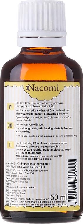 Olio di Inca-Inchi - Nacomi Olej Inca Inchi Odbudowa Kolagenu Skóry — foto N4