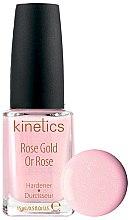 Profumi e cosmetici Indurente unghie - Kinetics Rose Gold Hardener
