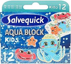 Profumi e cosmetici Cerotti per bambini - Salvequick Aqua Block Kids Slices