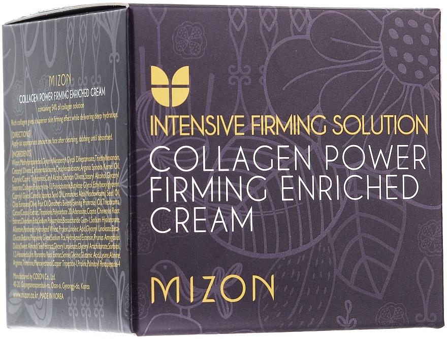 Crema rassodante al collagene - Mizon Collagen Power Firming Enriched Cream — foto N2