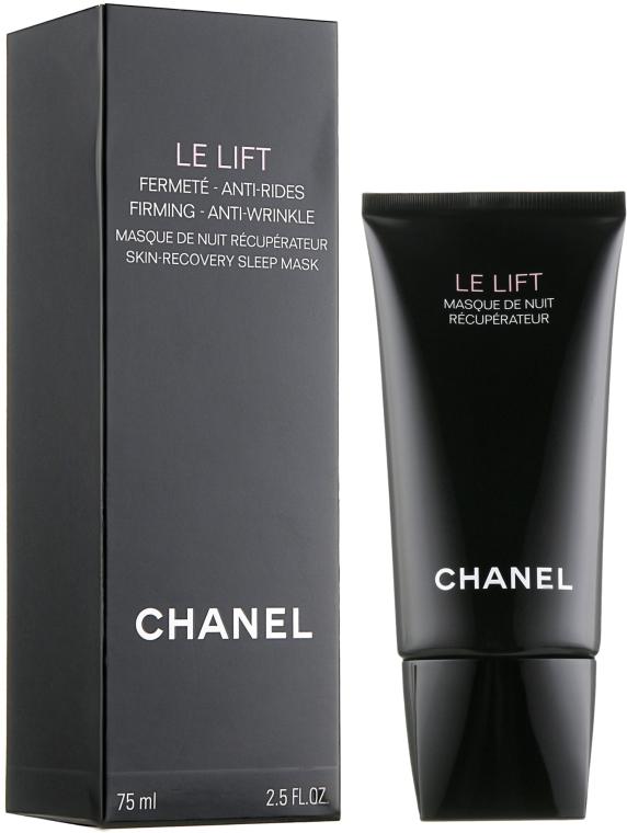 Maschera viso rassodante, da notte - Chanel Le Lift Firming Anti Wrinkle Skin-Recovery Sleep Mask — foto N1
