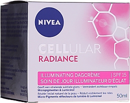 Crema illuminante - Nivea Cellular Radiance Illuminating Day Cream SPF 15 — foto N1