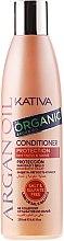 Profumi e cosmetici Condizionante idratante per capelli, con olio di argan - Kativa Argan Oil Conditioner