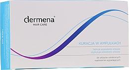 Profumi e cosmetici Fiale per capelli anticaduta, per donne - Dermena Hair Care Ampoules Against Hair Loss