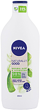 Profumi e cosmetici Lozione corpo - Nivea Naturally Good Body Lotion