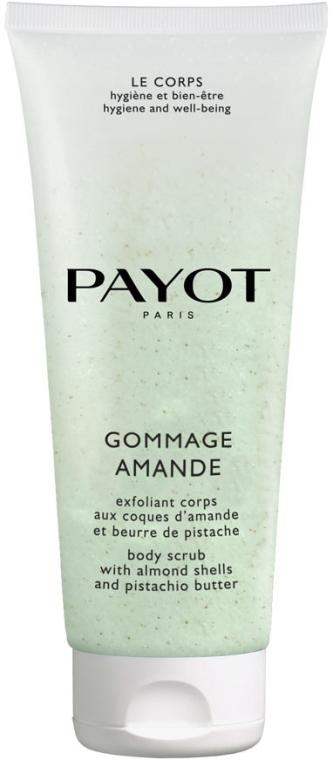 Scrub cremoso per corpo, con estratti di pistacchio e mandorla dolce - Payot Le Corps Gommage Amande Body Scrub Peeling