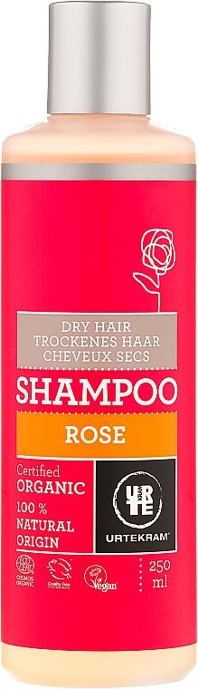 "Shampoo per capelli secchi ""Rosa"" - Urtekram Rose Dry Hair Shampoo"
