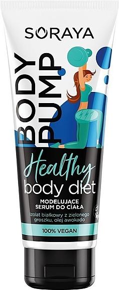 Siero modellante corpo - Soraya Healthy Body Diet Body Pump — foto N1